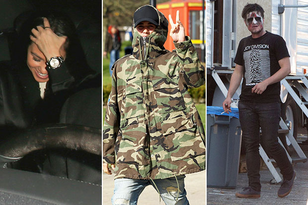 Kourtney Kardashian Cracks Up and 17 More of the Funniest Celebrity Paparazzi Pics of the Week