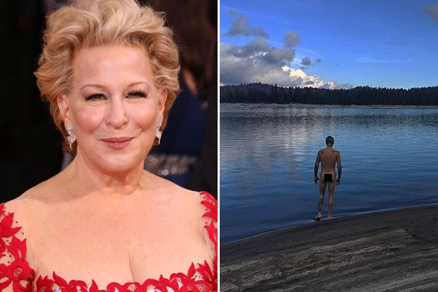 Bette Midler (Of Course) Has Something to Say About Justin Bieber's Bare Butt Photo