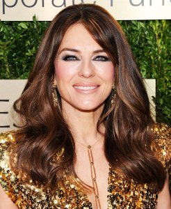 Elizabeth Hurley Ready Fall Madly in Love
