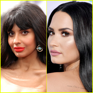 Jameela Jamil Defends Herself Against Fanbases After Interviewing Demi Lovato