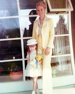 Kelly Ripa Twins With Mom Esther Adorable Easter Pic From Over 40 Years Ago