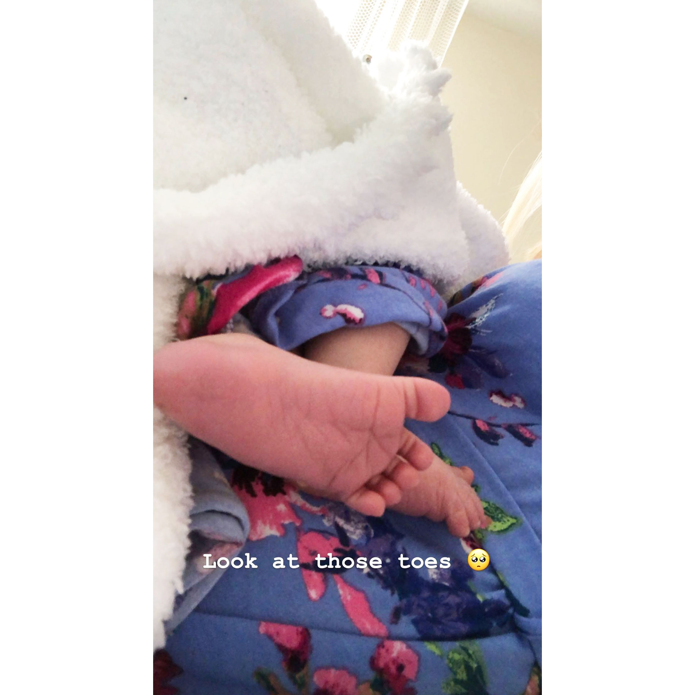 Taylor Selfridge Gives First Glimpse of Her and Cory Wharton's Newborn Daughter