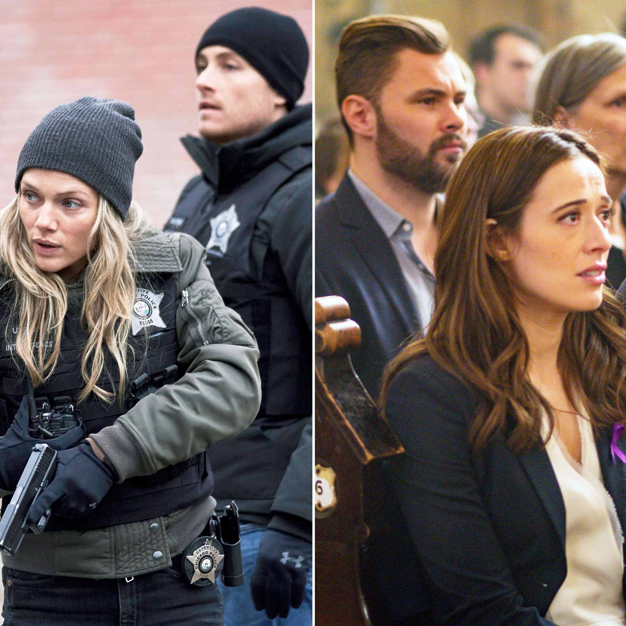 Chicago PD Couples Upstead and Burzek