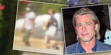 Brad Pitt Spotted Kissing German Model Nicole Poturalski In France: The Pair Acted Like 'Loved Up Teenagers'