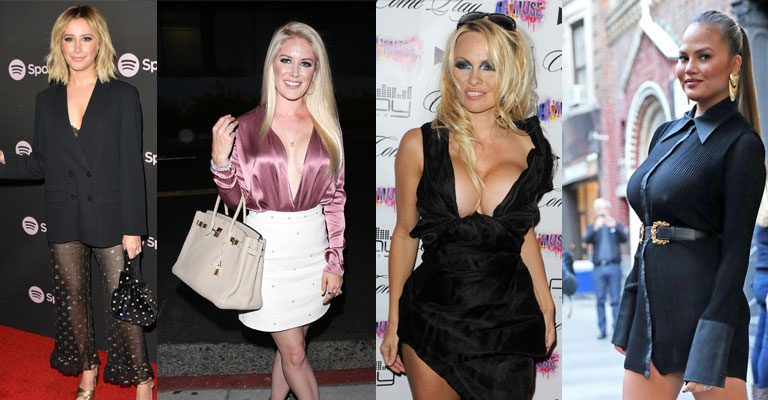 Bye-Bye, Boobs! Celebs Who Had Their Breast Implants Removed