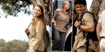 Bindi Irwin Flaunts Her Cute Baby Bump While Out And About With Her Husband Chandler Powell — Photos
