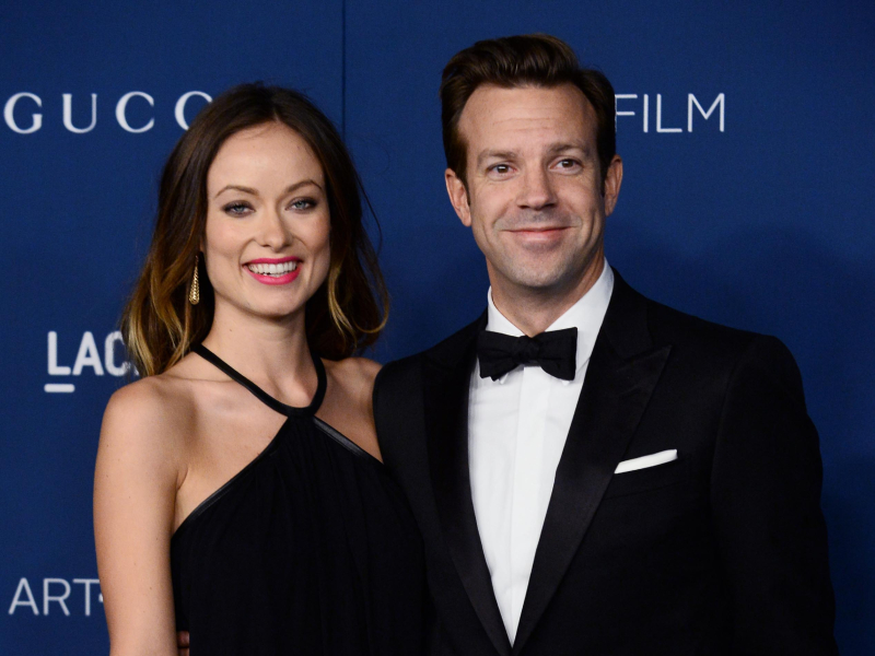 Olivia Wilde and Jason Sudeikis at the LACMA Art + Film gala in Los Angeles