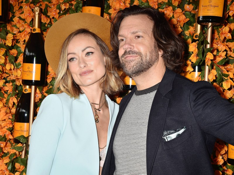 Oliva Wilde and Jason Sudeikis at the 9th Annual Veuve Clicquot Polo Classic Los Angeles